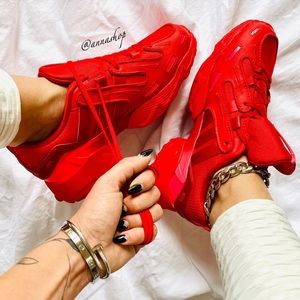 NWT Adidas EQT gazelle triple red